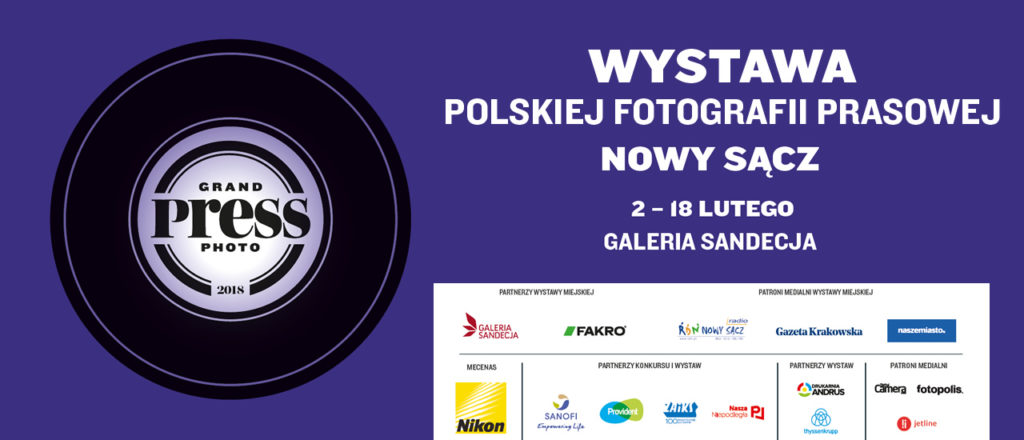 Wystawa Grand Press Photo 2018 w Nowym Sączu